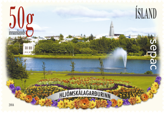 Iceland Sepac Stamp