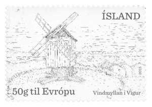The windmill in Vigur