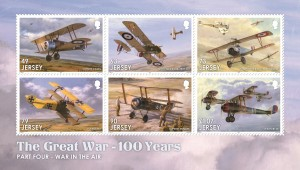 The Great War_Part Four_War in the Air_Souvenir Sheetlet