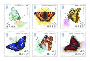 Links with China - Butterflies - Mint Set