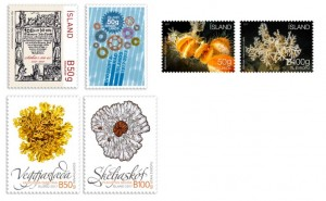 The new stamps issued on September 14th