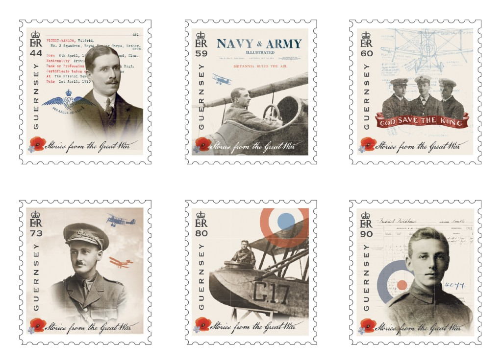 Great War Set of 6 Stamps Part 4.indd