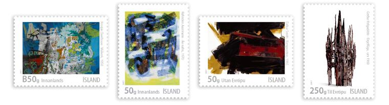 655sett - Icelandic Art VIII – Lyrical Abstraction in the 1950s and 1960s