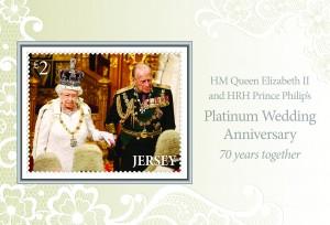 Platinum Wedding Anniversary - Miniature Sheet