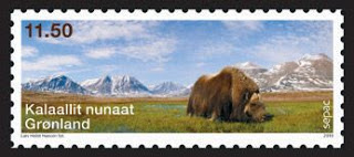 Greenland Sepac stamp