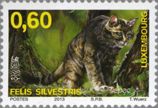 Luxembourg Sepac stamp