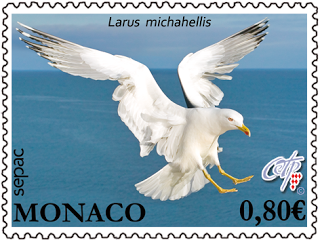 Monaco Sepac stamp