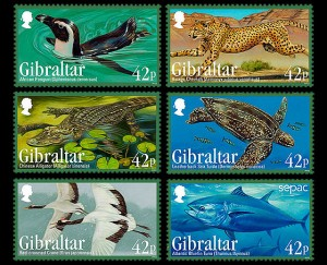 Gibraltar – Endangered Animals III | SEPAC Stamps