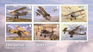 The Great War_Part Four_War in the Air_Souvenir Sheetlet