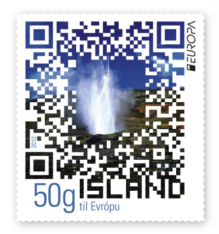 574A - Europa Stamp 2012 - Visit Iceland - Designer Elsa Nielsen
