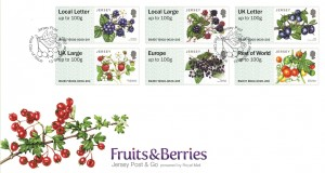 P&G FRUITS&BERRIES STAMPS FDC