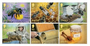 The new honey scented issue depicting the honey making process