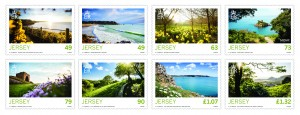 JERSEY SEASONS SPRING STAMPS MINT SET