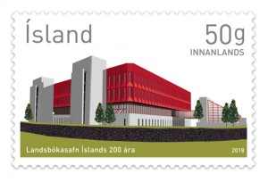 659A Sheet - The National Library of Iceland 200th Anniversary - Self-adhesive Price: ISK 1800    Add to basket     659A - The National Library of Iceland 200th Anniversary