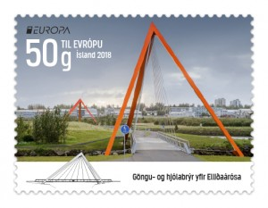 661A - Europa stamp 2018 – Bridges - Self-adhesive