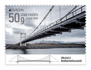 661B - Europa stamp 2018 – Bridges - Self-adhesive