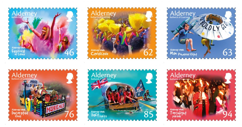 Alderney Week Set of 6 perf