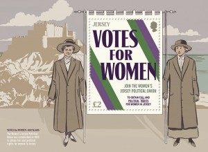 Votes for Women_100 Years_Miniature Sheet