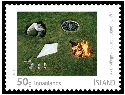 674A Sigurður Guðmundsson, Collage (1979)