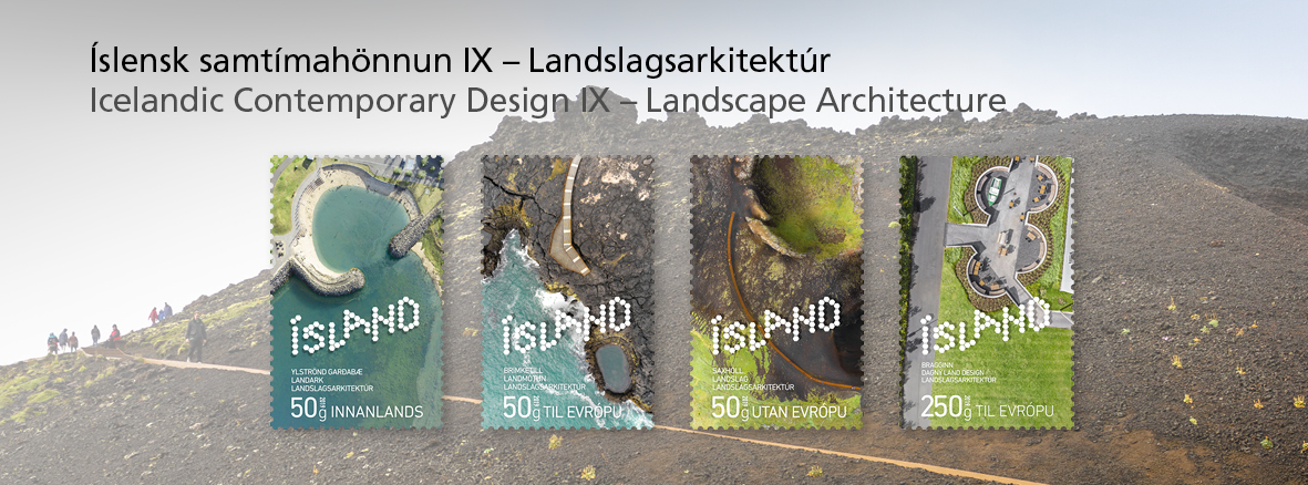Icelandic contemporary Design IX Landscape architecture
