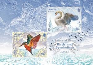 Europa 2019_National Birds_Souvenir Miniature Sheet