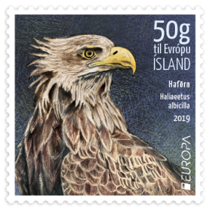 683A - The White-tailed eagle 50g to Europe