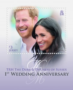 TRH The Duke and Duchess of Sussex_Miniature Sheet
