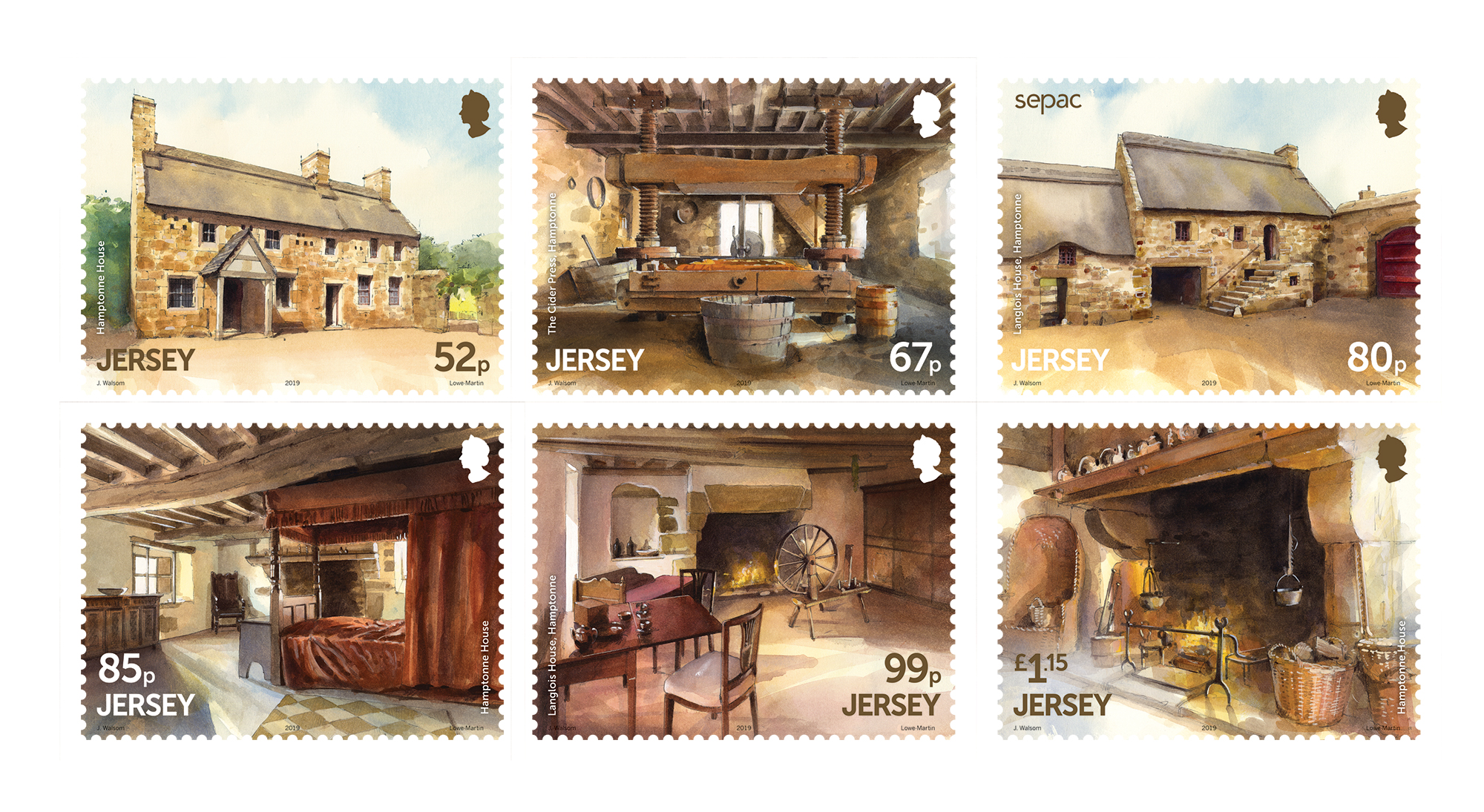 Hamptonne Farm to feature on Jersey stamps | SEPAC Stamps