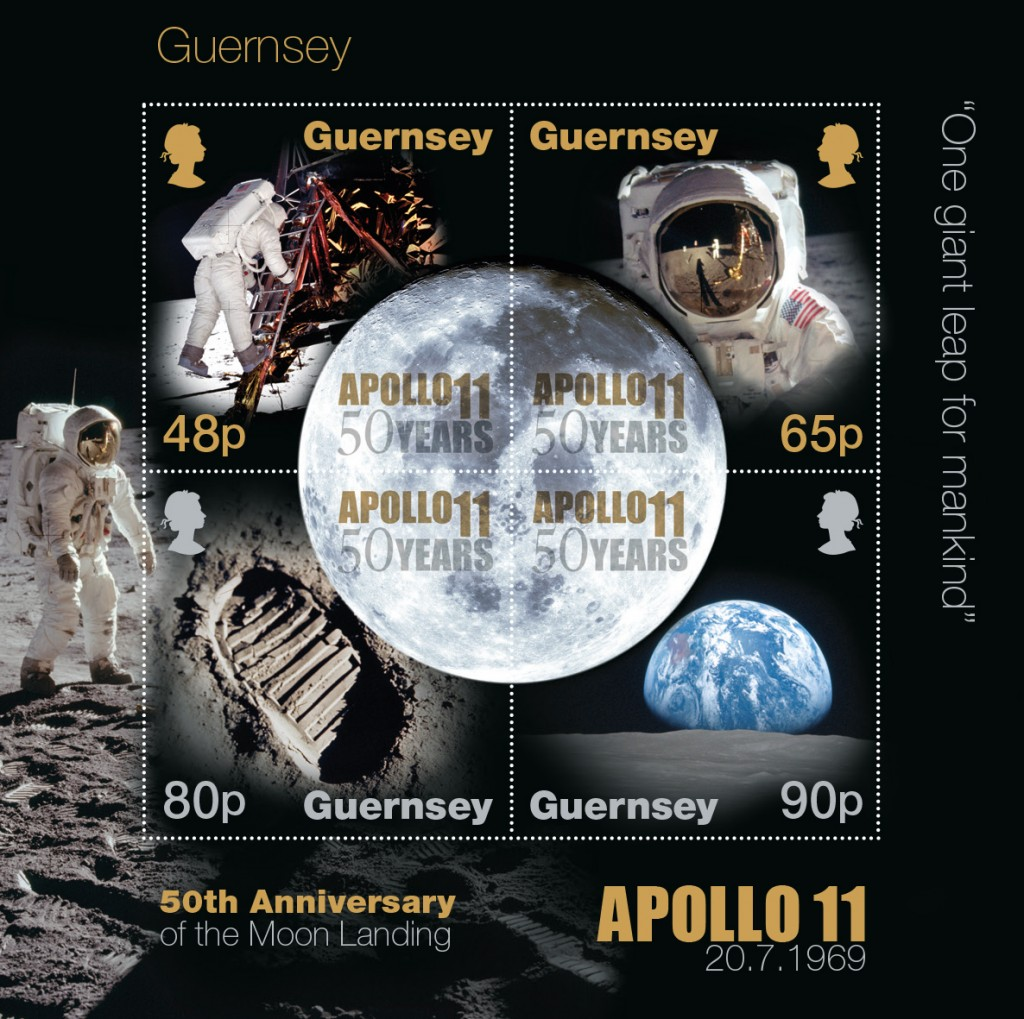 Moon Landing Souvenir Sheet Perf
