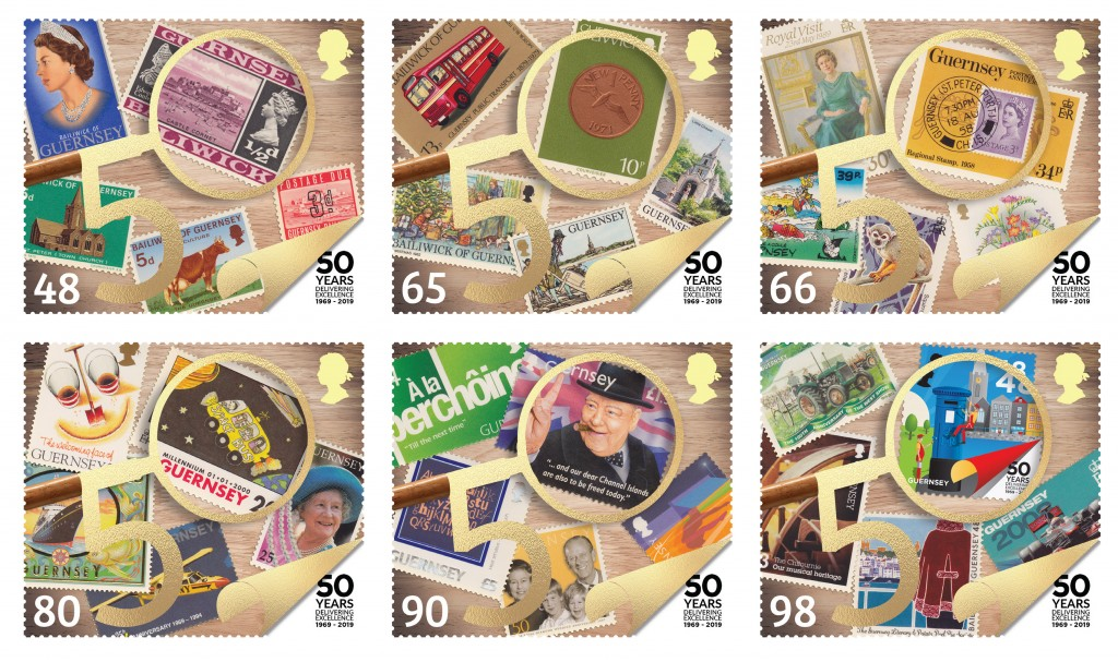 Postal Independence Set of 6 Philatelic