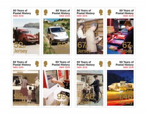 Jersey Post 50 Years of Postal History - Mint Set