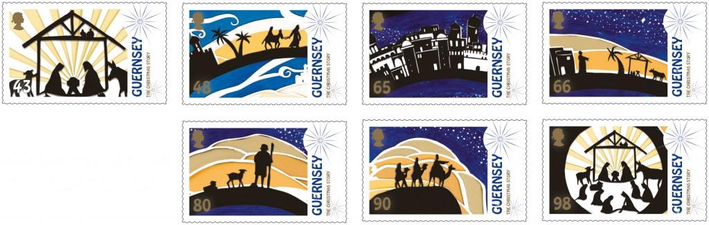 Guernsey Christmas 2019 set