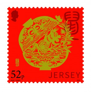 Lunar New Year_Year of the Rat_Stamp