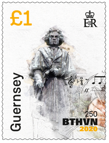 Beethoven Stamp 1