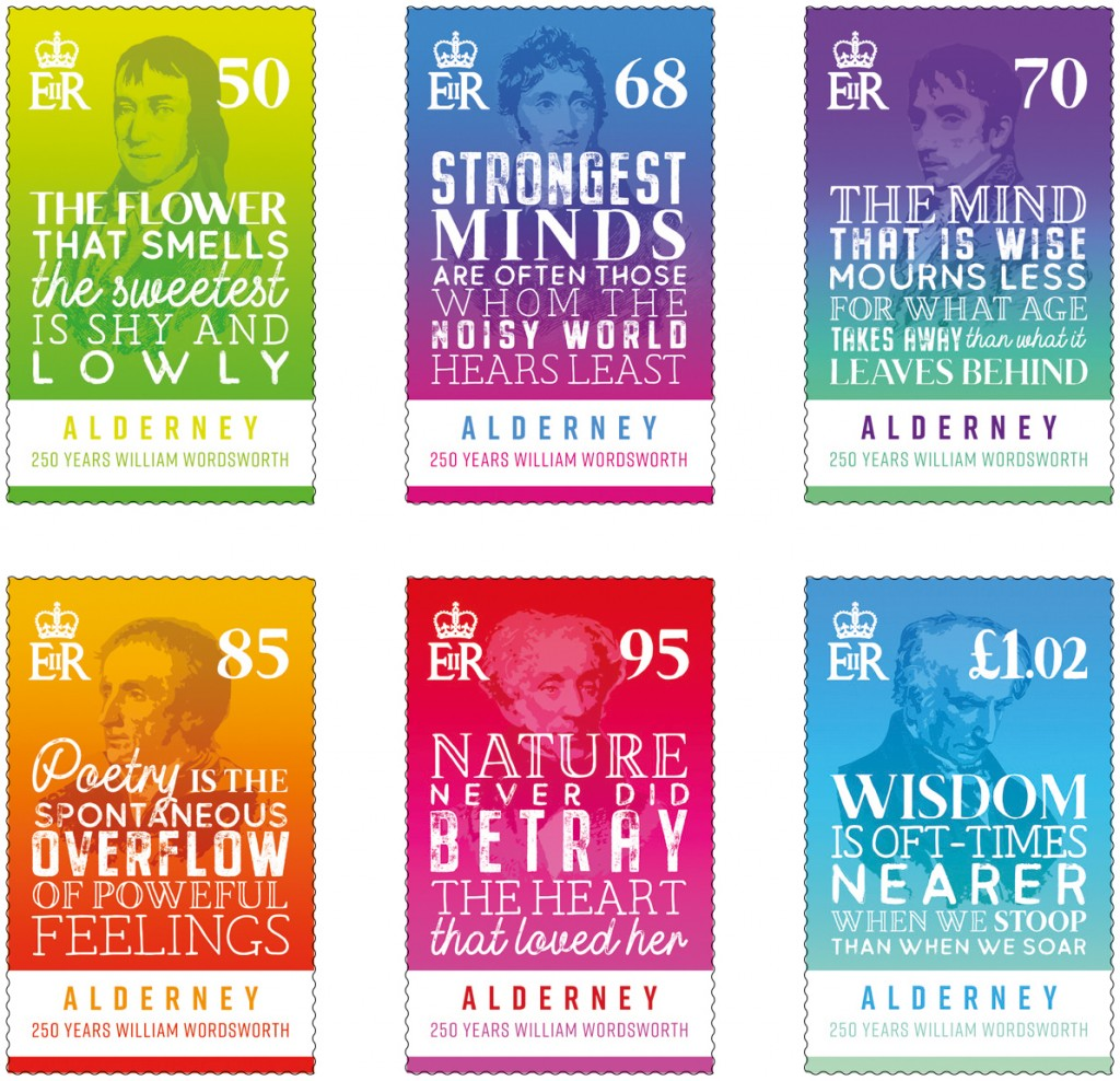 Wordsworth Set of 6