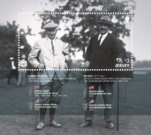 Harry Vardon_Miniature Sheet