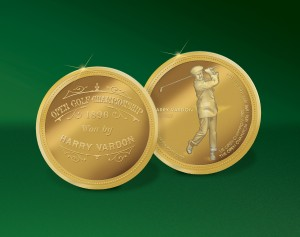 Harry Vardon_Souvenir Coin