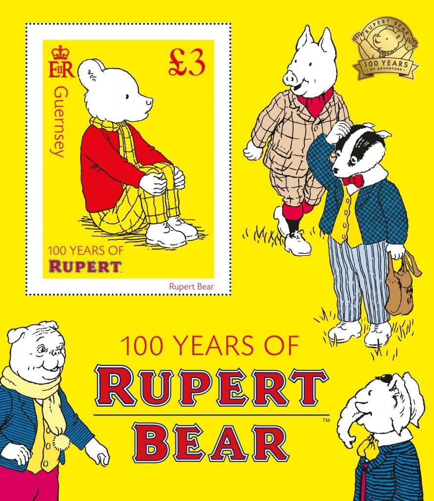 Rupert Bear Miniature Sheet