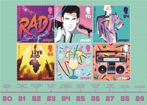 Popular Culture_The 1980s_Souvenir Sheetlet