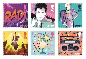 Popular Culture_The 1980s_Stamps