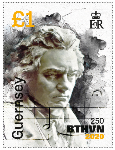 Beethoven Stamp 4