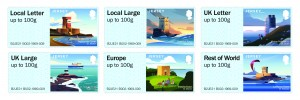 Post and Go Coastal Towers Stamp Set