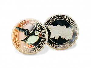 Puffin Souvenir Coin