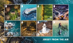 Jersey From The Air - Souvenir Sheetlet