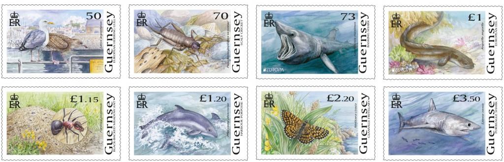 Europa Wildlife Set of 8