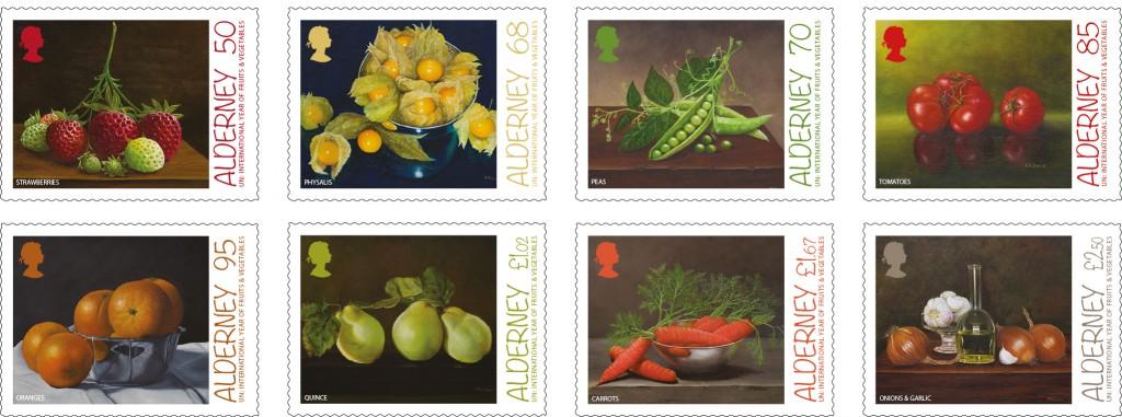 Fruit & Veg Set of 8