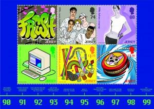 Popular Culture_The 1990s_Souvenir Sheetlet