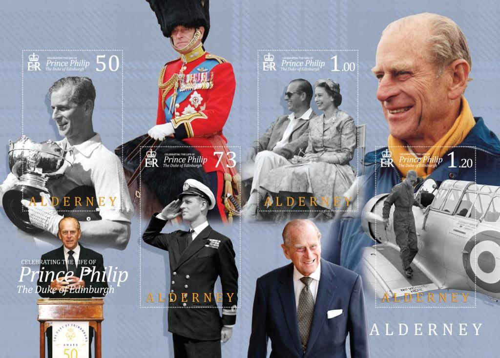 Prince Philip Souvenir Sheet